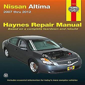 Nissan Altima Automotive Repair Manual - 2007-12 by Max Haynes - Tim I