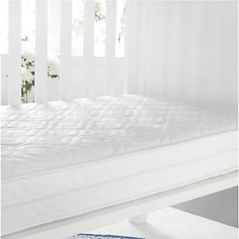 Quilted Anti-Allergenic Breathable Foam Cot Mattress. Size: 60cm x 120cm, 7cm Depth