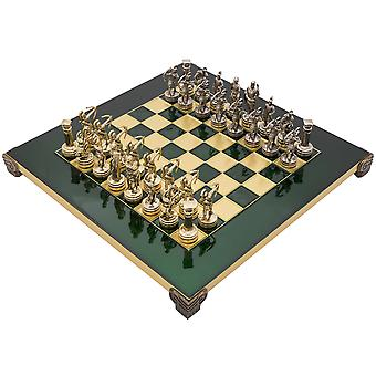 The Manopoulos Archers Chess Set With Wooden Case