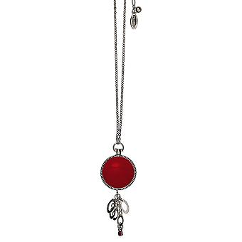 Pilgrim Ladies´ necklace :timeless red/silver (520301)