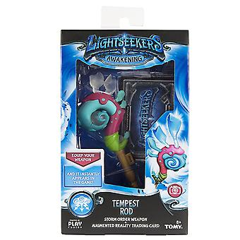 Lightseekers Awakening Tempest Rod Storm Order Weapon & Trading Card