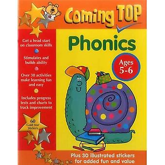 Coming Top: Phonics - Agesa� 5-6: 60 Gold Star Stickers - Plus 30 Illustrated Stickers for Added Fun and Value