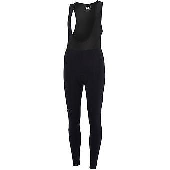 Madison Black Keirin With Pad Womens Bib Pants