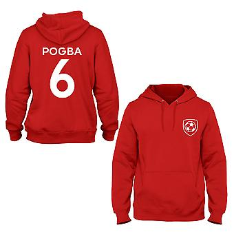 Paul Pogba 6 Manchester United stijl speler hoodie