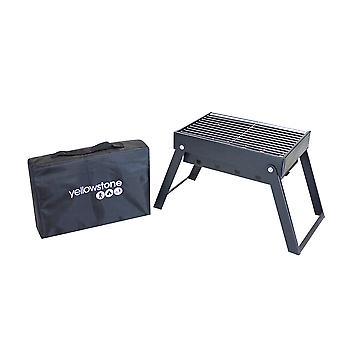 Yellowstone Midi Folding Steel BBQ with Carry Bag