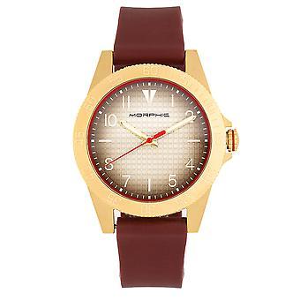 Morphic M84 Series Strap Watch - Maroon