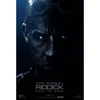 Riddick Poster Double Sided Regular (2013) Original Cinema Poster (Uv Coated/High Gloss)