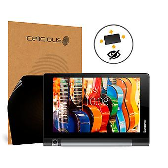 Celicious Privacy Plus 4-Way Anti-Spy Filter Screen Protector Film Compatible with Lenovo Yoga Tab 3 Plus