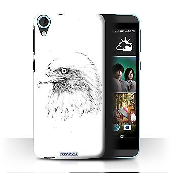 STUFF4 Case/Cover for HTC Desire 820s Dual/Eagle/Bird/Sketch Drawing