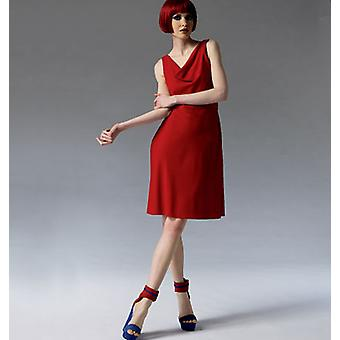 Misses' Dress  6  8  10  12  14 Pattern V1351  A50