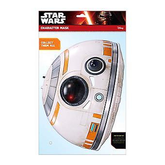 BB-8 officiella Star Wars The Force vaknar kort Party ansiktsmask