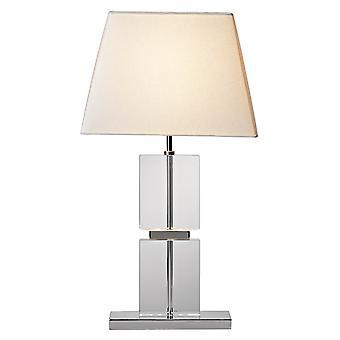 Dar Dream DRE4050 Table Lamp Single Fabric Shade Inc