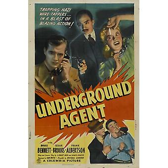 Agente underground Movie Poster (11 x 17)