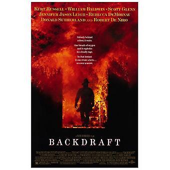 Backdraft-Film-Plakat-Druck (27 x 40)