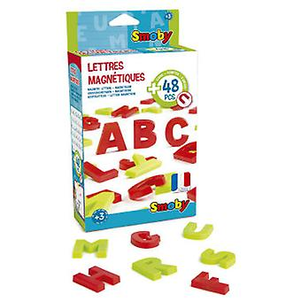 Smoby 48 Uppercase Magneticas (Kids , Toys , Education , Boards And Accessories)