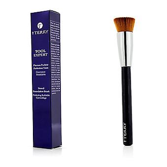 By Terry Too Expert Stencil Foundation Brush -