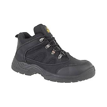 Amblers Steel FS151 Mens Safety Mid Boots Textile Synethetic Single Density