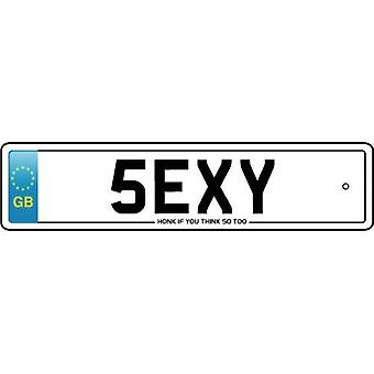 Sexy Numberplate Car Air Freshener