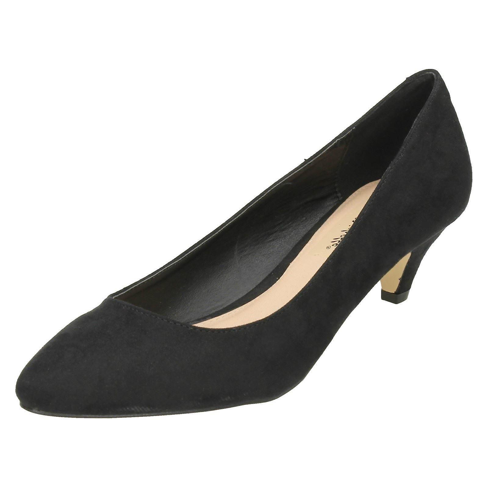 Anne Michelle Ladies tacco punta punta scarpe F9965