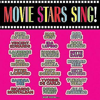 Varios artistas - estrellas de cine Estados Unidos cante [CD] importar