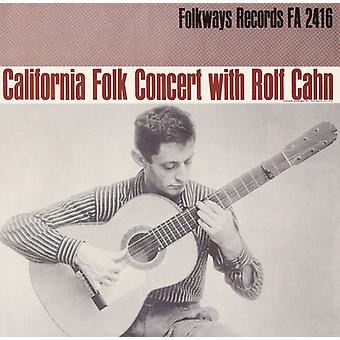 Rolf Cahn - California Concert with Rolf Cahn [CD] USA import