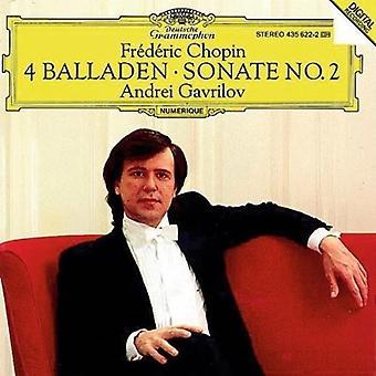Chopin / Gavrilov - Ballades / Piano Sonata 2 [CD] USA import