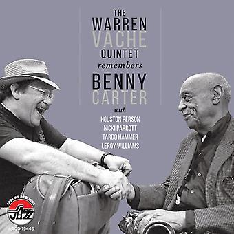 Warren Vache - husker Benny Carter [CD] USA import