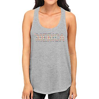 'Merica Cute Tribal Pattern America Letter Printed Tanks For Women