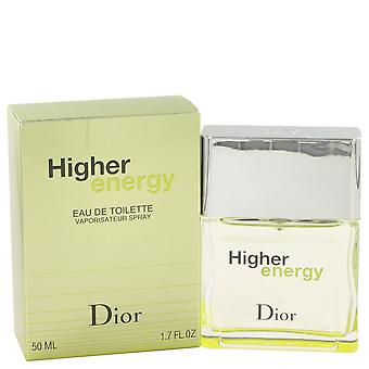 Christian Dior Men Higher Energy Eau De Toilette Spray By Christian Dior