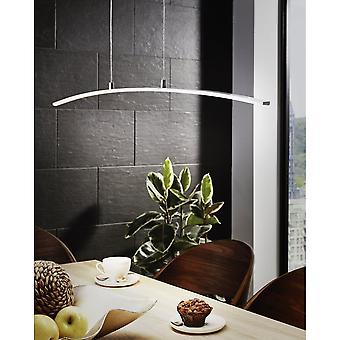 Eglo LASANA Chrome Modern Bar Light Pendant