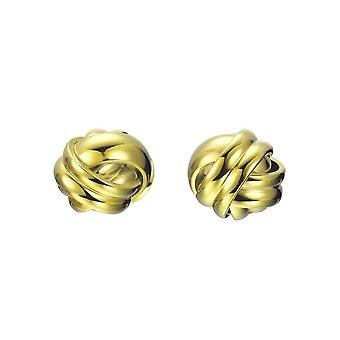 Joop women's earrings stainless steel gold embrace JPER10028B000
