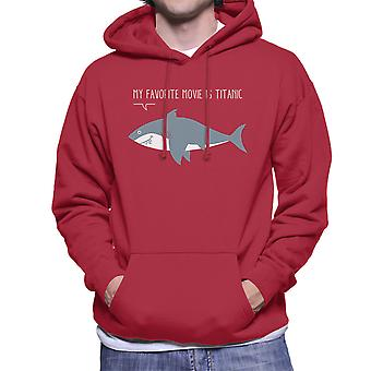 A Sharks Favorite Movie Men's Hooded Sweatshirt