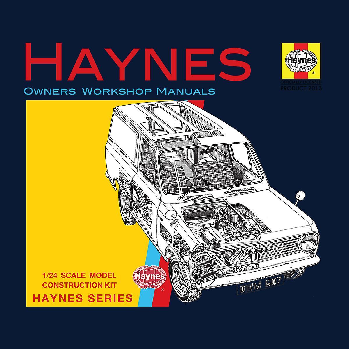 Haynes Owners Workshop Manual 0607 Bedford HA Van Men's Varsity Jacket