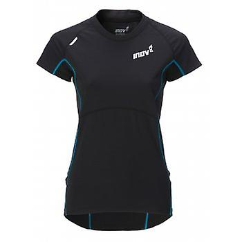 Base Elite 100 Short Sleeve Running T-Shirt Black Womens