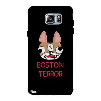 Boston Terror Terrier sort telefon sag