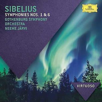 Virtuoso: Jarvi/Goth - Sibelius: Symphonies [CD] USA import
