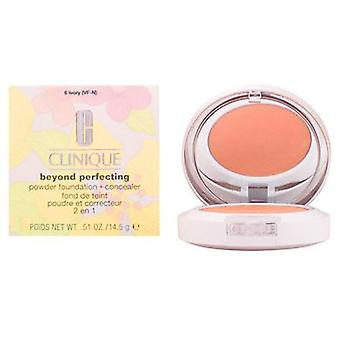 Clinique Beyond Perfecting Powder Foundation Ivory 14.5 Gr-06 (Beauty , Make-up , Face)