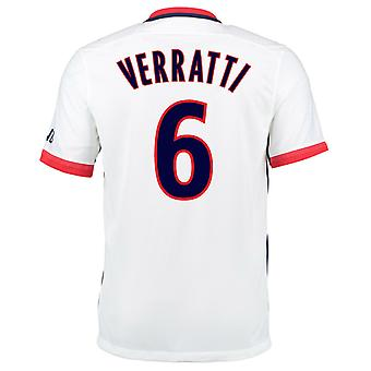 2015-16 PSG Nike Away Kit (Verratti 6) - Kids