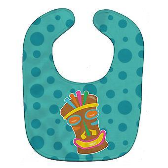 Carolines Treasures  BB8814BIB Tiki Face Baby Bib