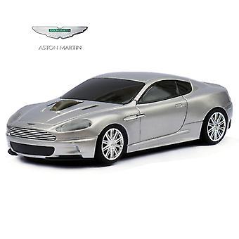 Ratón de equipo inalámbrico coche oficial Aston Martin DBS - plata