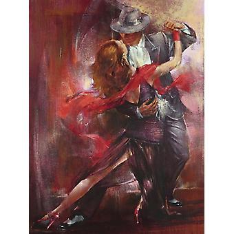 Tango Argentino II Poster Print by Pedro Alvarez (23 X 31)