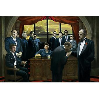 Mafia Gangsters Poster Print (36 x 24)