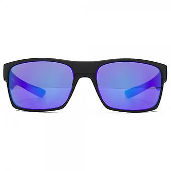 Oakley TwoFace Sunglasses In Matte Black Violet Iridium