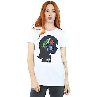 Disney Women's Inside Out Silhouette Boyfriend Fit T-Shirt