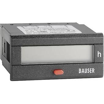 Bauser BZ/BZ 115-240 V/AC Digital counter - Twin technology Assembly dimensions 45 x 22 mm