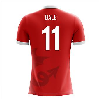 2018-2019 Wales Airo Concept Home Shirt (Bale 11)