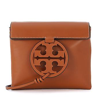 Tory Burch women's 47123268 brown leather shoulder bag