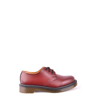 Dr. Martens women's MCBI103048O red leather lace-up shoes