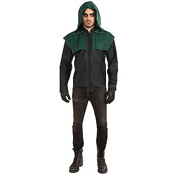 Freccia Oliver Queen supereroe TV DC Comic Men Deluxe Costume