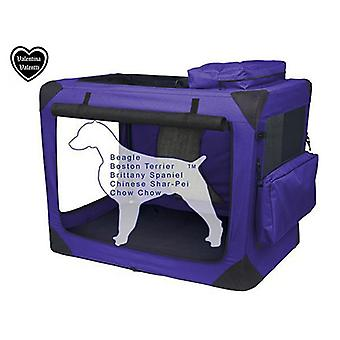VALENTINA VALENTTI PET FOLDING CARRIER TRANSPORT SOFT CRATE